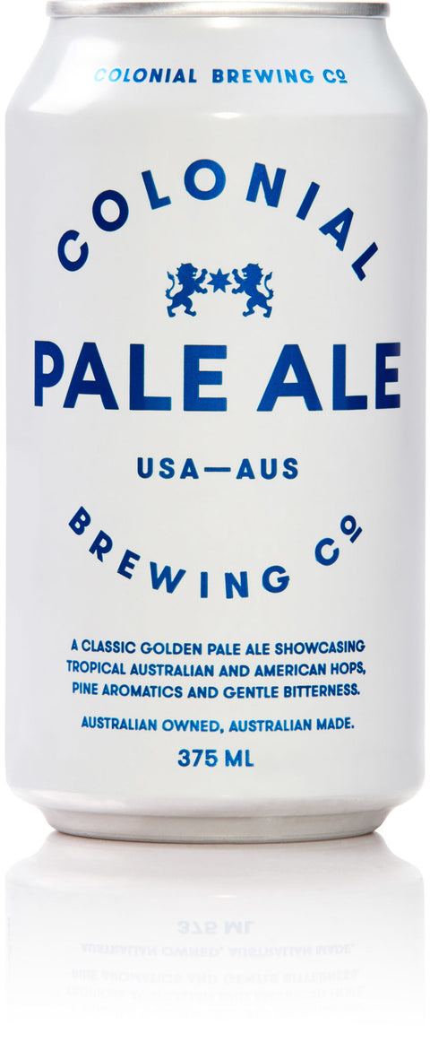 COLONIAL BREWING CO PALE ALE 375ML X 24