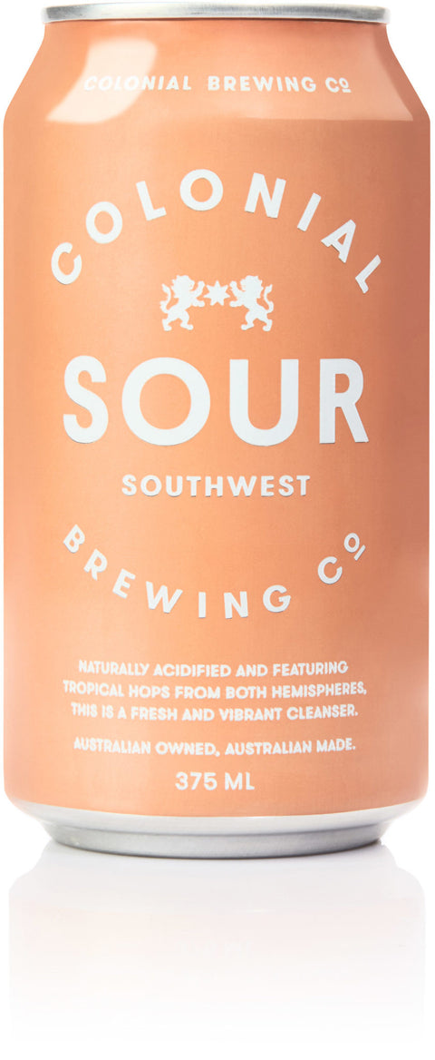 COLONIAL BREWING CO SOUTH WEST SOUR  375ml x 24