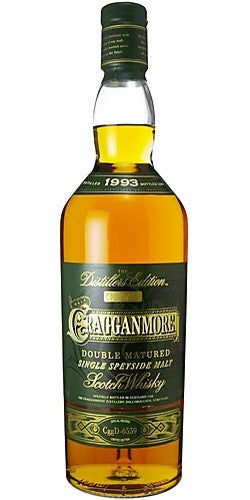 CRAGGANMORE DISTILLERS EDITION 14 YEAR OLD SPEYSIDE SINGLE MALT