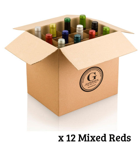 GANGEMI'S SELECTION DOZEN $240 MIXED RED