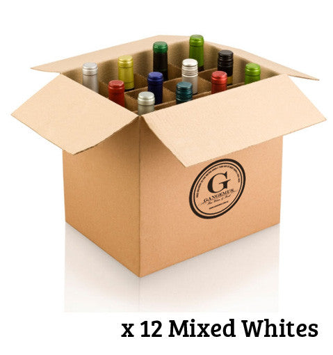 GANGEMI'S SELECTION DOZEN $240 MIXED WHITE