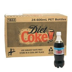 DIET COKE 600ML X 24