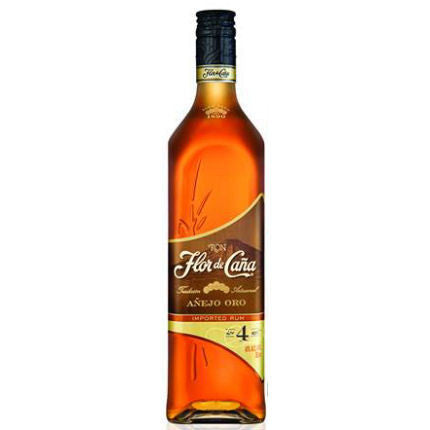 RON FLOR DE CANA 4 YR OLD GOLD RUM