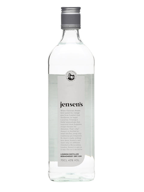 JENSENS LONDON DISTILLED BERMONDSEY DRY GIN