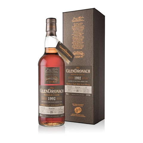 The Glendronach 1992  - 25 Year Sherry Butt Batch 16 Cask 127 700ml 50.9%