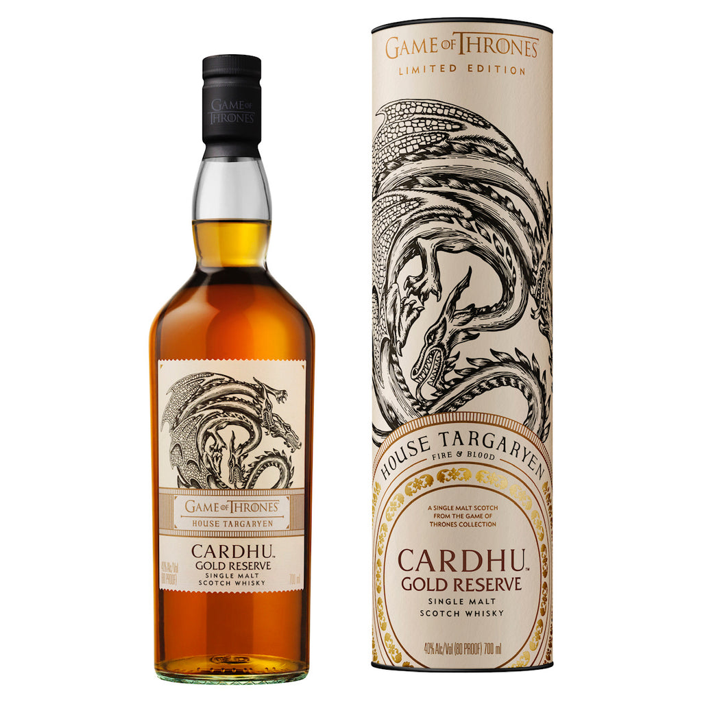 Game of Thrones House Targaryen Cardhu Gold Reserve 40%