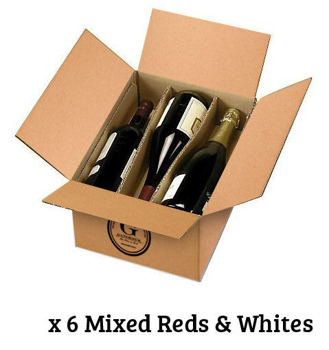 SPECIAL 1/2 DOZEN $85 MIXED REDS & WHITES