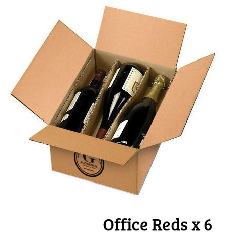 Office Reds 6 pack