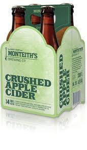 MONTEITHS APPLE 330ML X 4