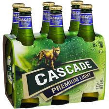 CASCADE PREMIUM LIGHT 375ML X 6