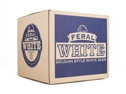 FERAL BELGIAN STYLE WHITE BEER 330ML X 16