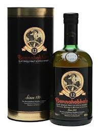 BUNNAHABHAIN 12 YEAR OLD ISLAY SINGLE MALT