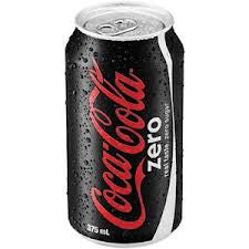 COKE ZERO 375ML CAN