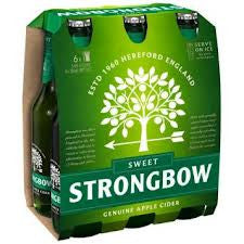 STRONGBOW SWEET 355ML X 6