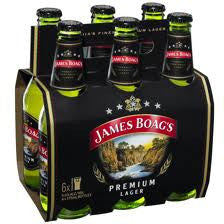 JAMES BOAGS PREMUM LAGER 375ML X 6