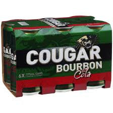 COUGAR & COLA CAN 375ML X 6