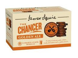 JAMES SQUIRE THE  CHANCER GOLDEN ALE 345ML X 24
