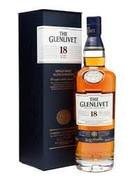 GLENLIVET 18 YEAR OLD SPEYSIDE SINGLE MALT