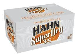 HAHN SUPER DRY 3.5 330ML X 24