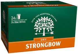 STRONGBOW DRY 355ML X 24