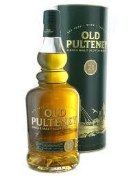 OLD PULTENEY 21 YEAR OLD HIGHLAND SINGLE MALT