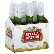 STELLA ARTOIS BEER 330ML X 6