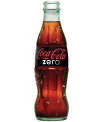 COKE ZERO GLASS