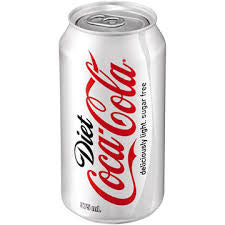 DIET COKE 375ML CAN