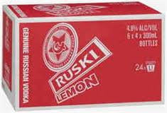 RUSKI LEMON 300ML X 24