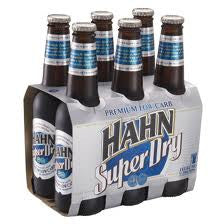 HAHN SUPER DRY 330ML X 6