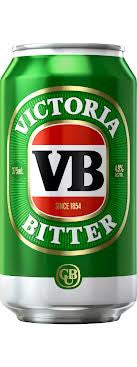 VICTORIA BITTER 375ML CANS