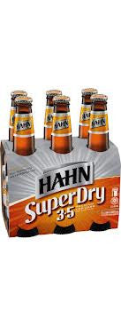HAHN SUPER DRY 3.5 330ML X 6