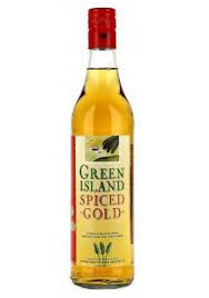 GREEN ISLAND SPICED GOLD RUM 700ML