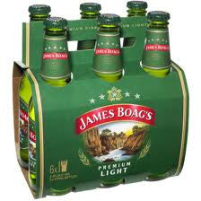 JAMES BOAGS LIGHT 375ML X 6