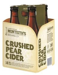 MONTEITHS PEAR CIDER 330ML X 4