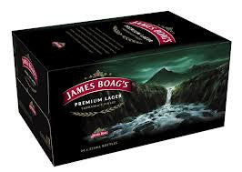 JAMES BOAGS PREMIUM LAGER 375ML X 24