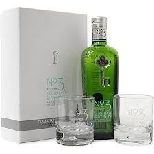 NO. 3 DRY GIN GIFT PACK GLASSES