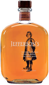 JEFFERSON'S KENTUCKY STRAIGHT VERY SMALL BATCH BOURBON 41.15% 750ML