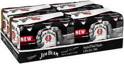 JIM BEAM WHITE ZERO 375ML X 24