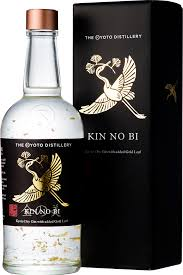 KIN NO BI KYOTO DRY GIN 45.7% With Gold Leaf!