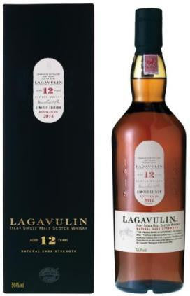 LAGAVULIN 12 YR OLD 54.4% 2014 CASK STRENGTH ISLAY SINGLE MALT