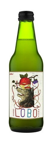 LOBO CLOUDY APPLE CIDER 330ML X 4