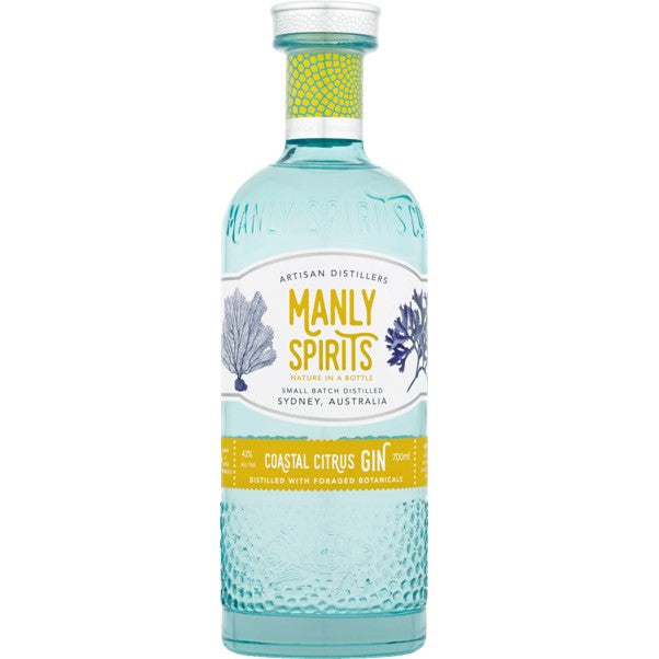 MANLY SPIRITS COASTAL CITRUS GIN 700ML