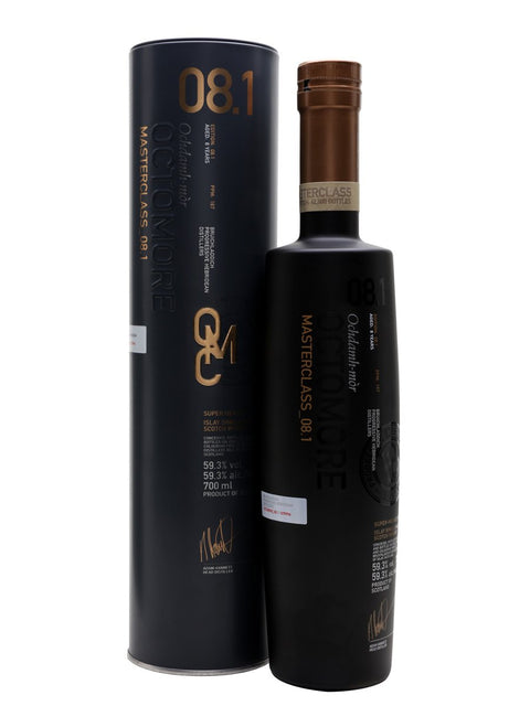 OCTOMORE 8.1 59.3% ISLAY SINGLE MALT