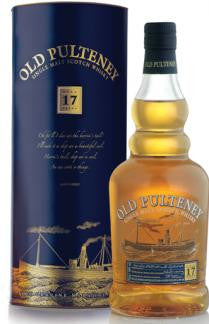OLD PULTENEY 17 YR OLD HIGHLAND SINGLE MALT