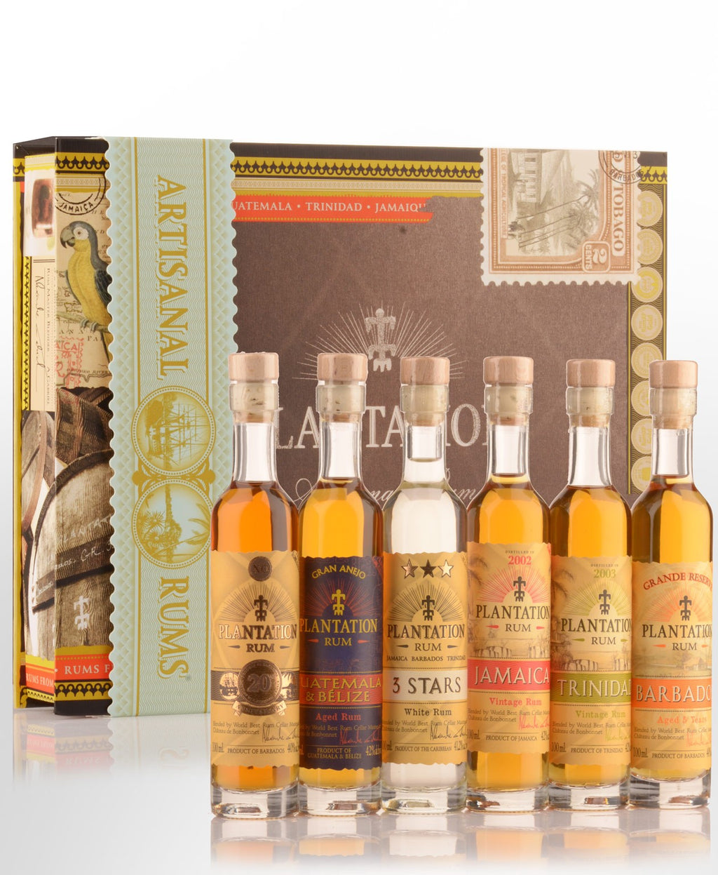 Plantation Rum Selection Box Gift Pack (6 x 100ml)