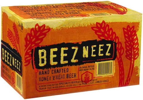BEEZ NEEZ HONEY BEER 345ML X 24