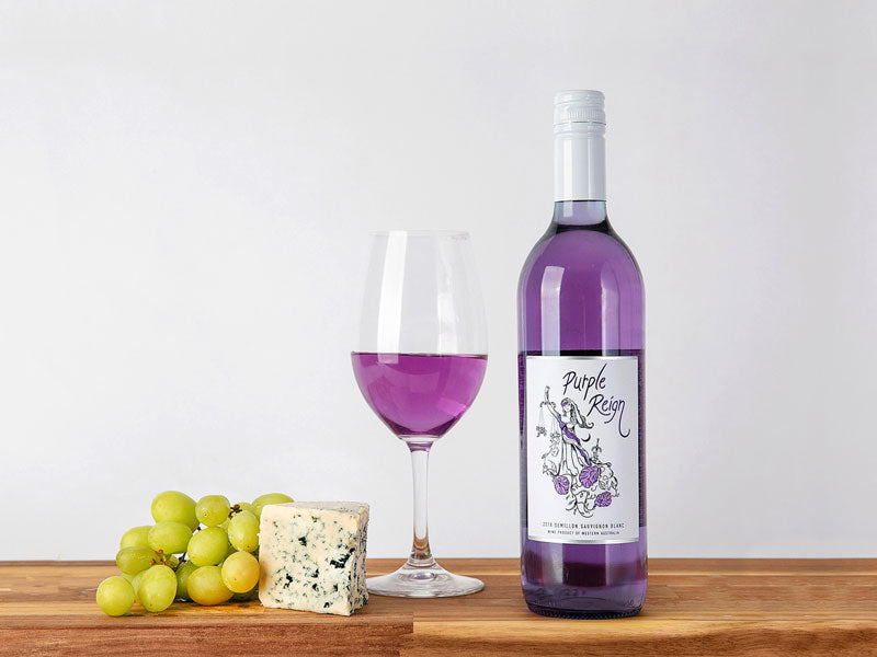12 BOTTLES OF PURPLE REIGN SEMILLON SAUVIGNON BLANC SHIPPED TO HONG KONG