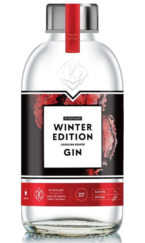 7K DISTILLERY WINTER EDITION CAROLINA REAPER GIN 725ML