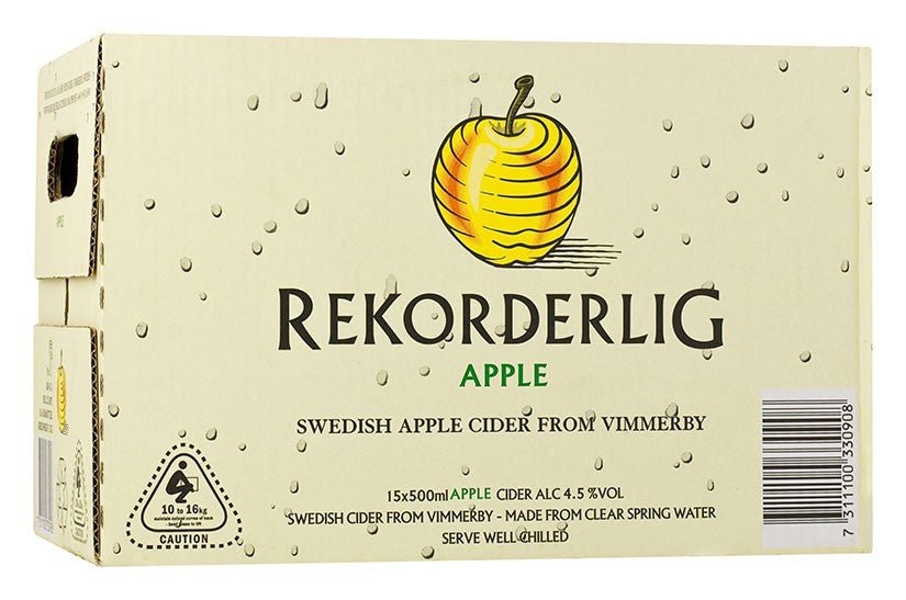REKORDERLIG APPLE X 15